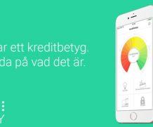 Kreddy – se ditt kreditbetyg i mobilen i ny app